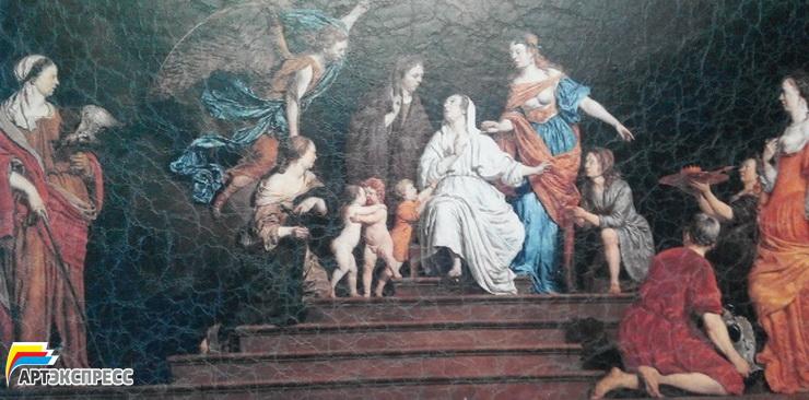 Репродукции картин известных художников на холсте